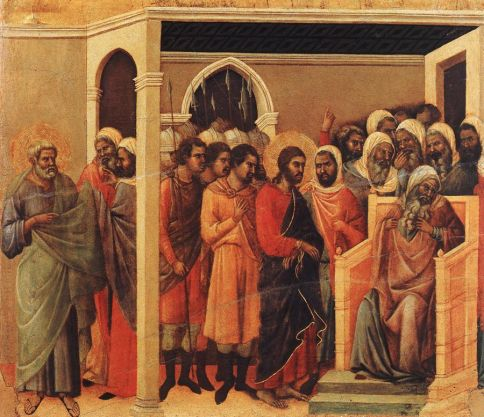 Duccio-di-Buoninsegna-Christ-Before-Caiaphas-Oil-Painting[1]